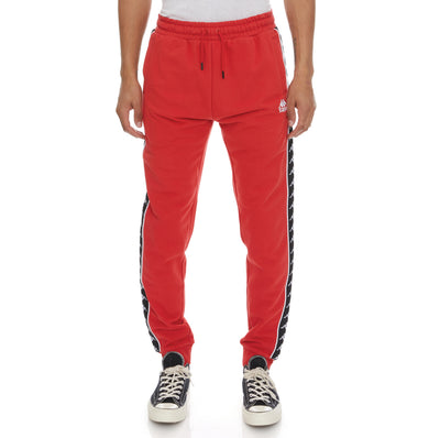 222 Banda Alanz 2 Sweatpants - Red Black
