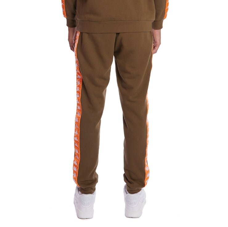 Kappa 222 Banda Alanz 2 Sweatpants - Green Oliva Orange