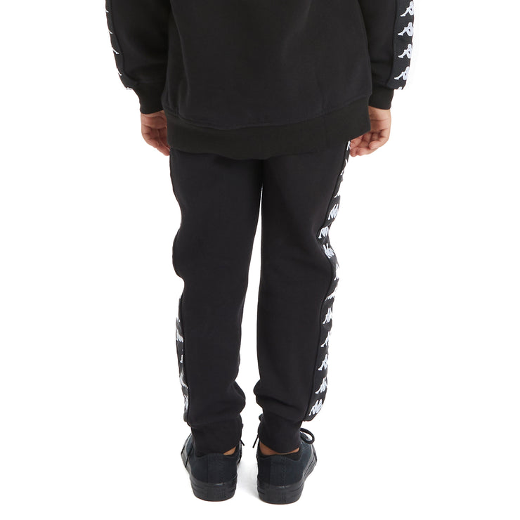 Kappa Kids 222 Banda Alanz 2 Sweatpants - Black White