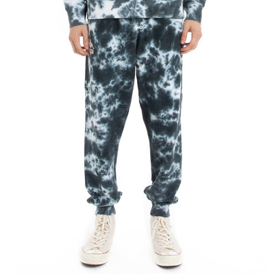 222 Banda Daltimor 2 Marbled Sweatpants - Black White