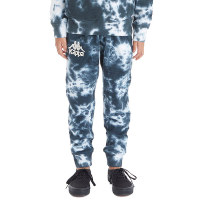 Kids 222 Banda Daltimor 2 Marbled Sweatpants - Black