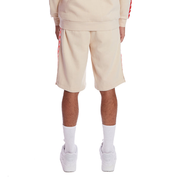 Kappa 222 Banda Marvz 2 Shorts - Beige Orange Flame