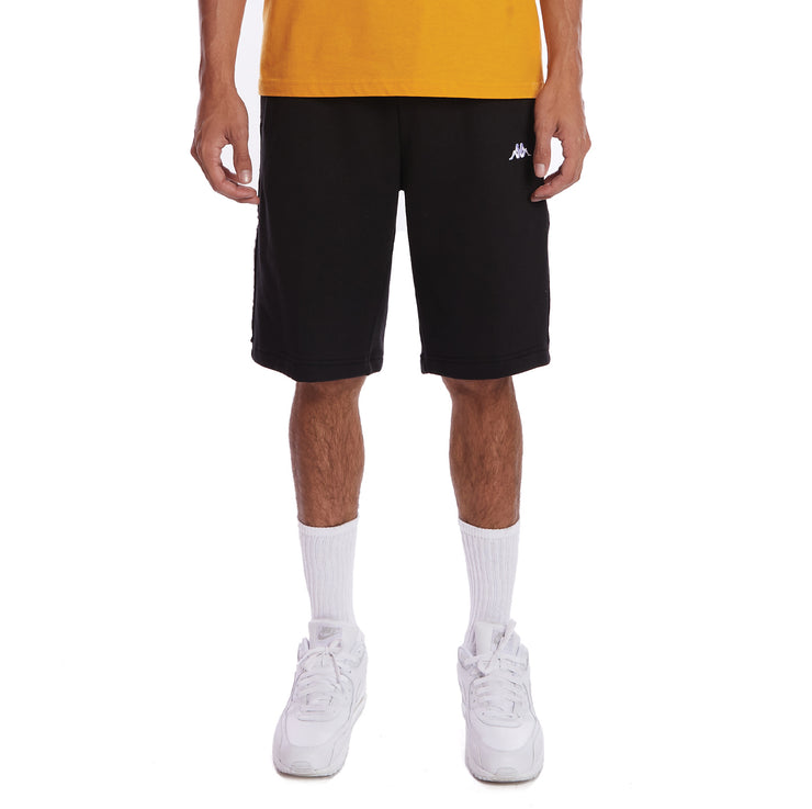 Kappa 222 Banda Marvz 2 Shorts - Black White