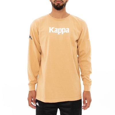 Authentic Bawser Long Sleeve T-Shirt - Beige
