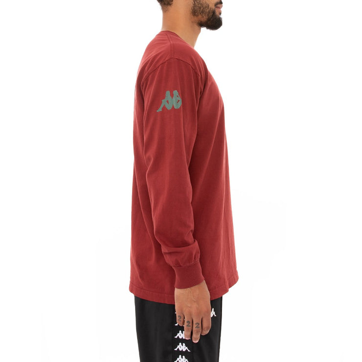 Authentic Bawser Long Sleeve T-Shirt - Red