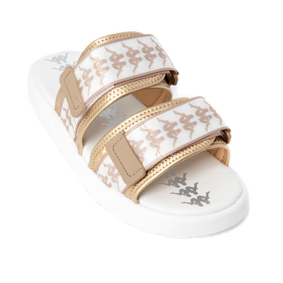 222 Banda Aster 2 Sandals - White Almond