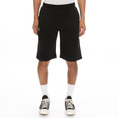 Logo Fleece Mabok Shorts - Black
