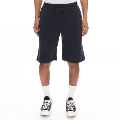 Logo Fleece Mabok Shorts - Navy Blue