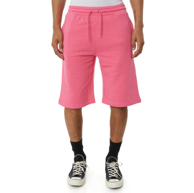 Logo Fleece Mabok Shorts - Pink