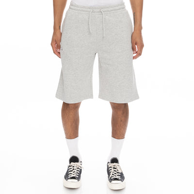 Logo Fleece Mabok Shorts - Grey Md Mel