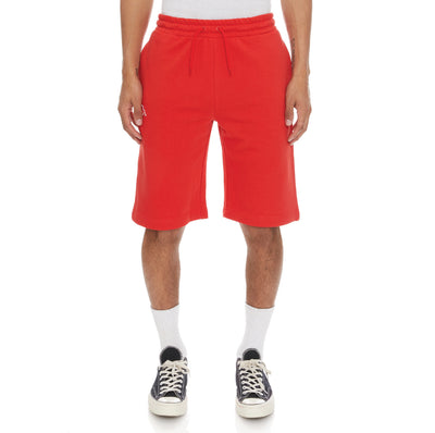 Logo Fleece Mabok Shorts - Red Coral
