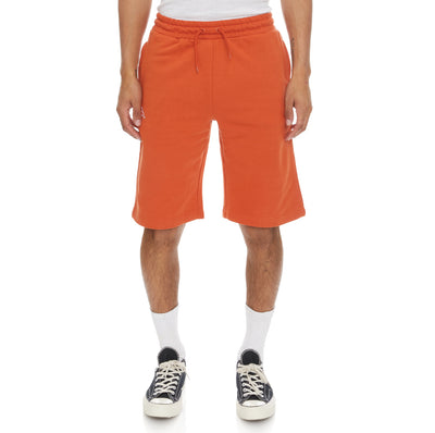 Logo Fleece Mabok Shorts - Orange