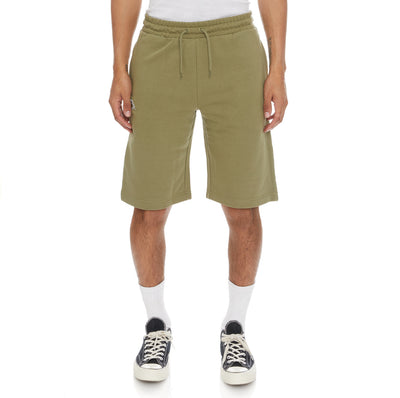 Logo Fleece Mabok Shorts - Green Olive