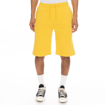 Logo Fleece Mabok Shorts - Yellow
