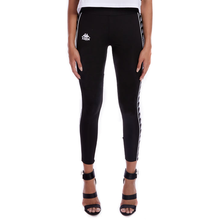 Kappa 222 Banda Barrio Leggings Black 1