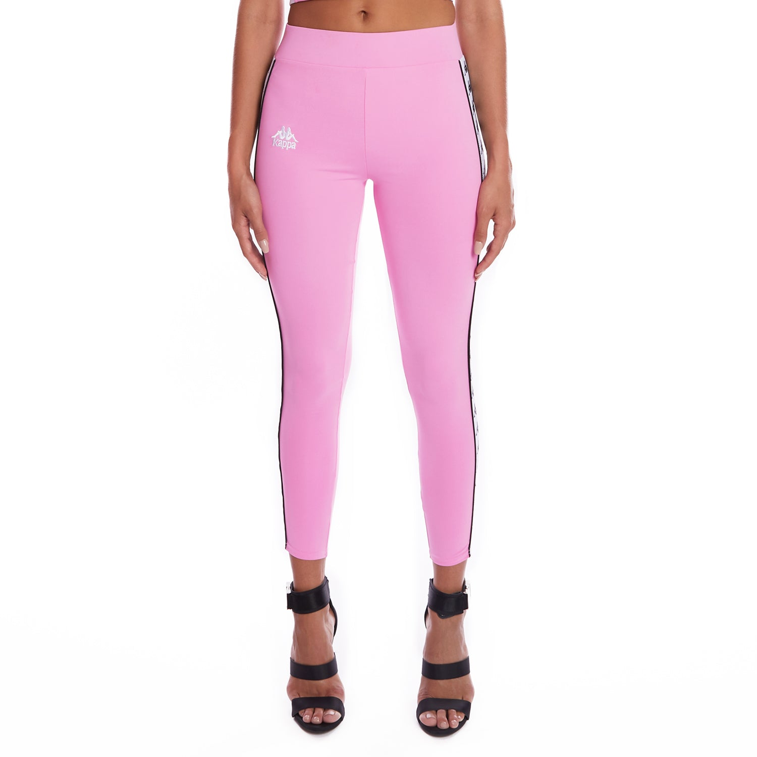 Kappa 222 Banda Barrio Leggings Pink 1