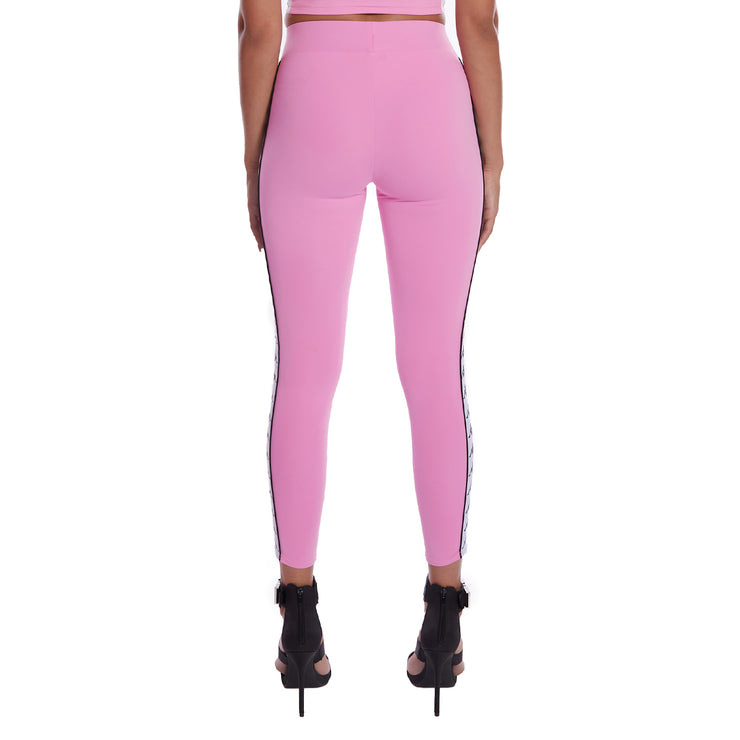 Kappa 222 Banda Barrio Leggings Pink 3