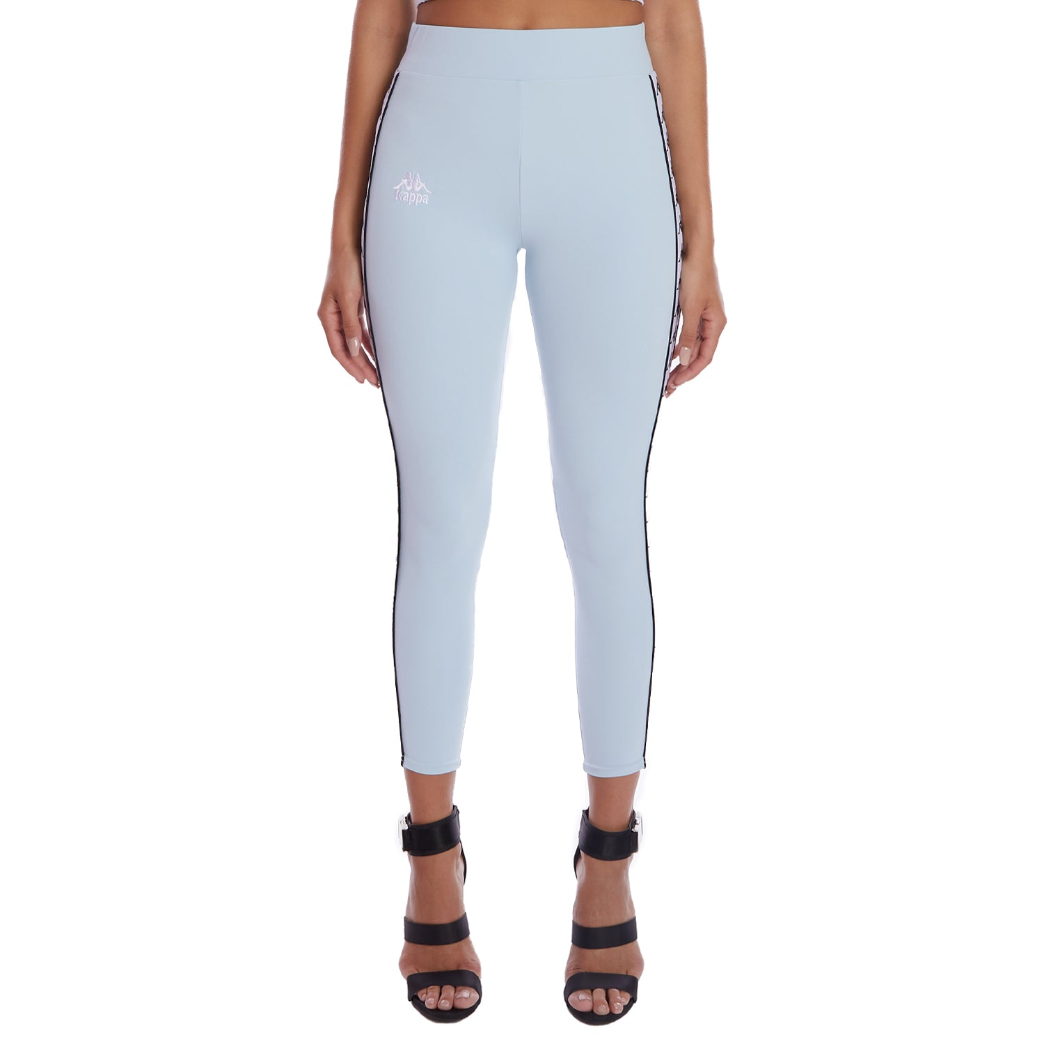 Kappa 222 Banda Barrio Leggings Blue 1