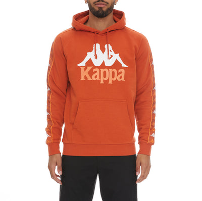 222 Banda Hurtado 3 Hoodie - Orange Dusty White