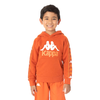 Kids 222 Banda Hurtado 3 Hoodie - Orange White