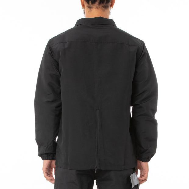 Authentic Skind Unisex Nylon Jacket - Black