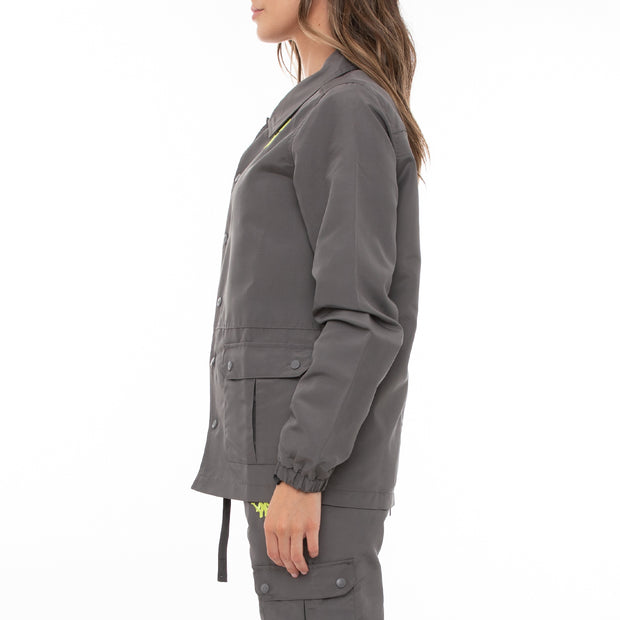 Authentic Skind Unisex Nylon Jacket - Grey