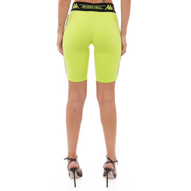 Authentic Shadow Sevel Bike Shorts - Lime