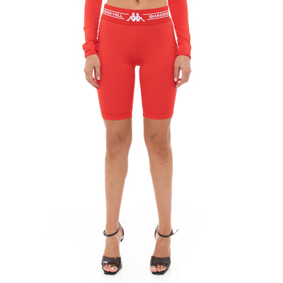 Authentic Shadow Sevel Bike Shorts - Red
