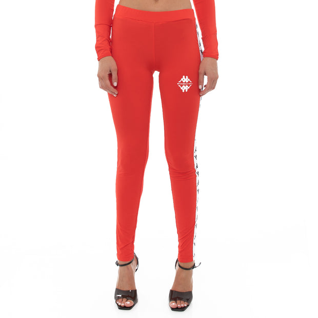 Authentic Shadow Salber Leggings - Red
