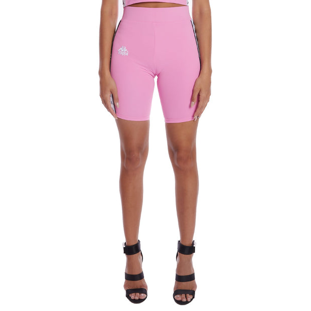 Kappa 222 Banda Cicles 2 Bike Shorts Pink 1