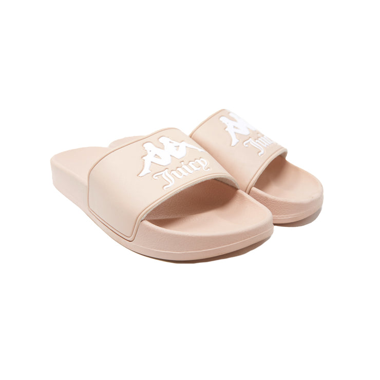 Authentic Juicy Couture Adam Slides - Pink White