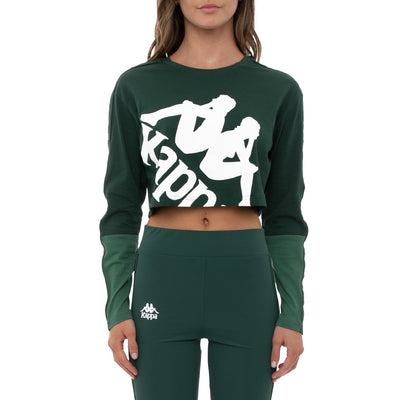 222 Banda Baloys Long Sleeves T-Shirt - Green