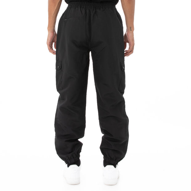 Authentic Sdamb Unisex Nylon Cargo Pants - Black