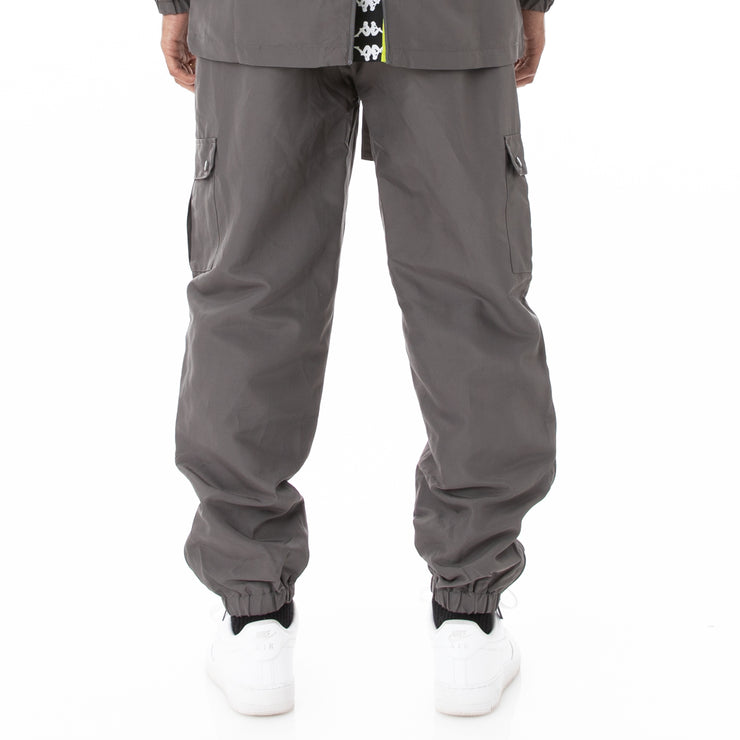 Authentic Sdamb Unisex Nylon Cargo Pants - Grey