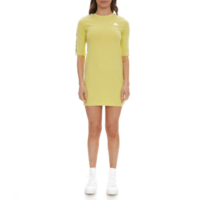 222 Banda Balni Dress - Yellow Lime
