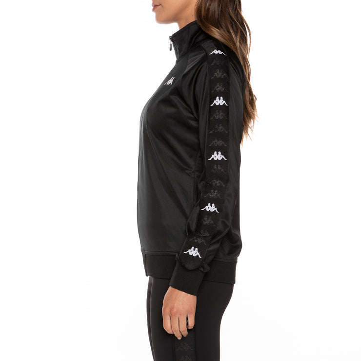 222 Banda Blaston Track Jacket - Black White