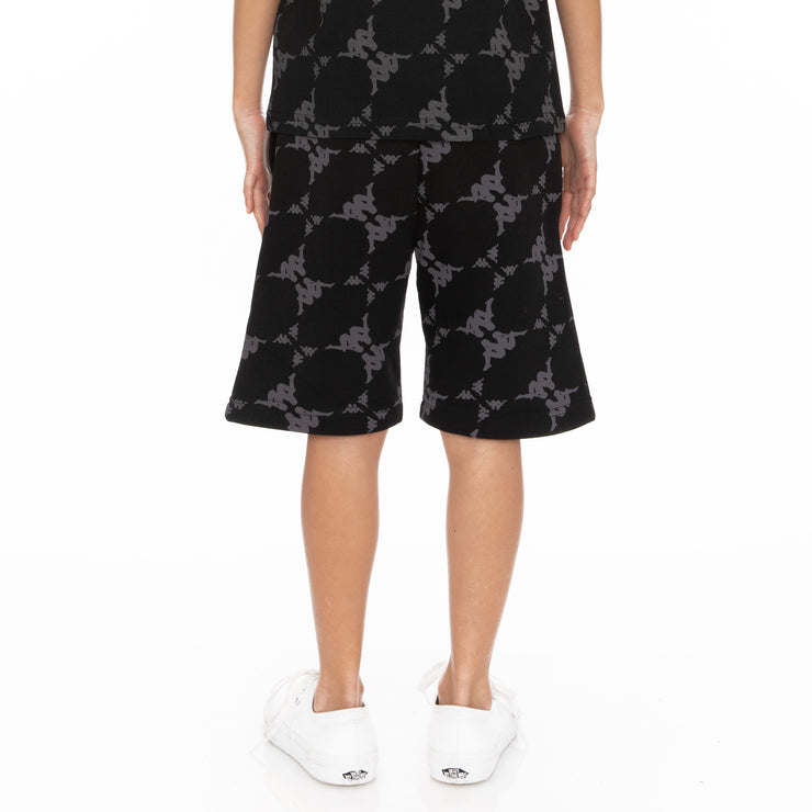 Kids Authentic Erya Shorts - Black Grey White