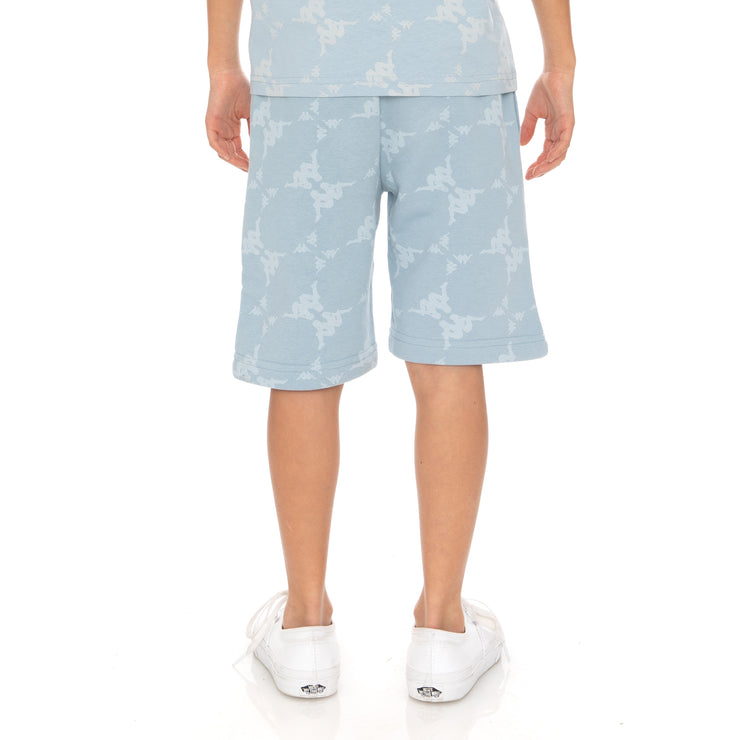 Kids Authentic Erya Shorts - Baby Blue White