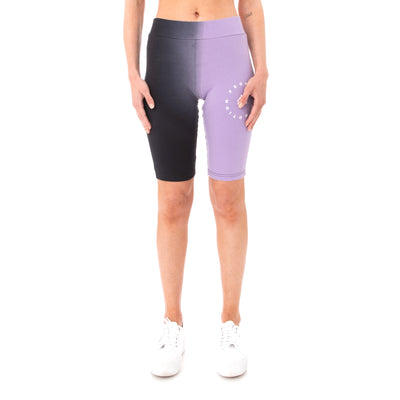 Kappa Authentic Sulawesi Bike Shorts - Black Violet