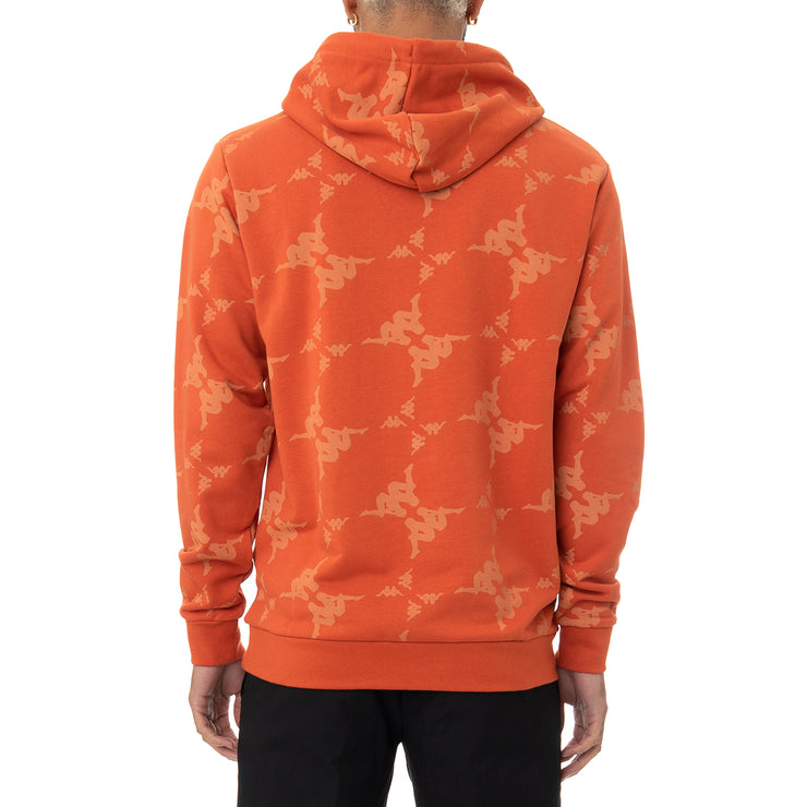 Authentic Emaios Hoodie - Orange White