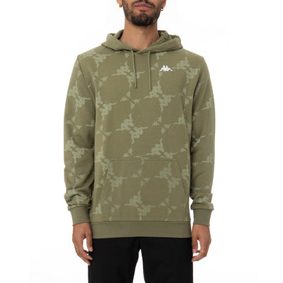 Authentic Emaios Hoodie - Green White