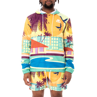 Kappa Authentic Bloxom Woven Anorak - Graphic