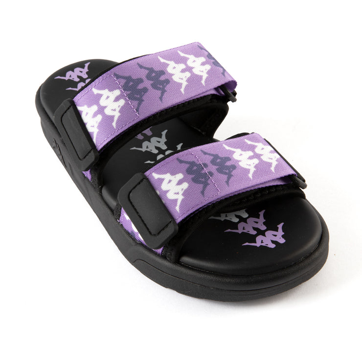 222 Banda Aster 4 Sandals - Black Lilac White