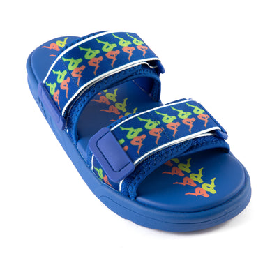222 Banda Aster 3 Sandals - Blue Lime Coral