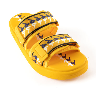 222 Banda Aster 3 Sandals - Yellow Violet White