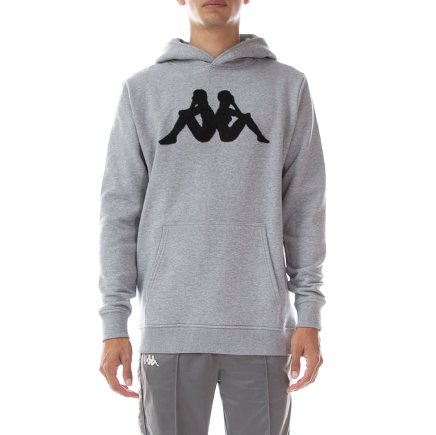 Authentic Dave Hoodie - Grey Black