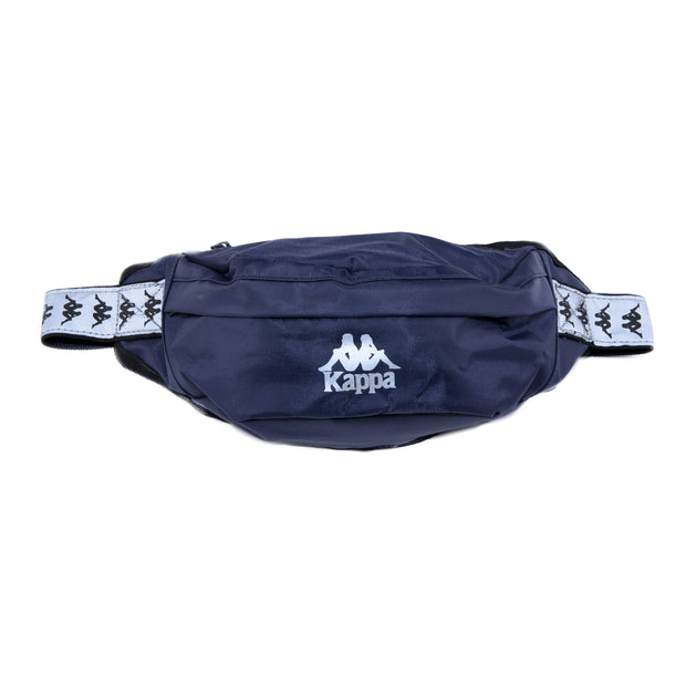 222 Banda Danky Reflective Pouch Bag Navy Grey Reflective