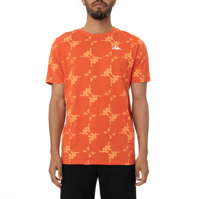 Authentic Ebit T-Shirt - Orange White