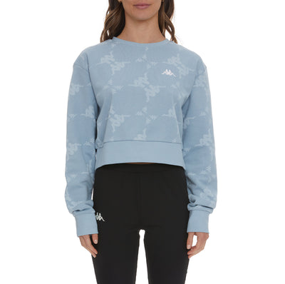 Authentic Tadci Sweatshirt - Baby Blue White