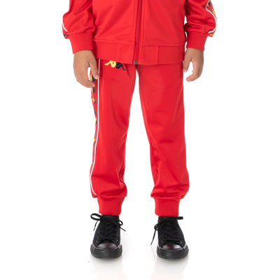 Kids 222 Banda Taggart Trackpants - Red